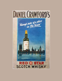 Scotch whisky vintage ad
