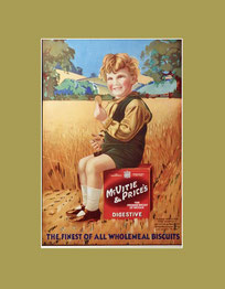 McVitie & Price vintage advert