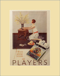 Player's Cigarettes vintage advert