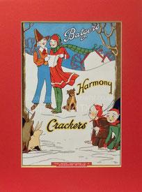 Christmas cracker labels