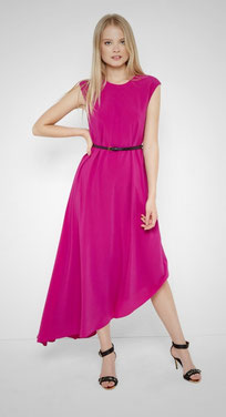 Ted Baker Asymmetric Fuchsia dress
