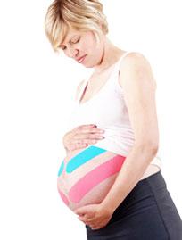 kinesio taping - ostéopathe - femme enceinte - solene marvyle - Pornichet - Saint-Lyphard