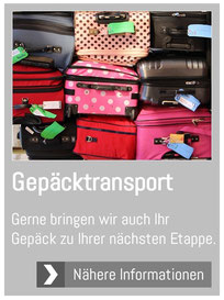 Gepäcktransport-Alpe Adria-Via Claudia Augusta