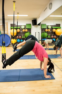 TRX Training in Medizinisches Trainingszentrum Triengen