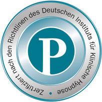 Zertifiziert durch das deutsche Institut für klinische Hypnose
