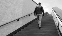 Foto Treppensteigen