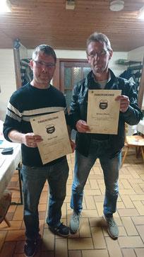 Heiko Teefs (links) u. Markus Thiemt (rechts)