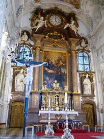 Hochaltar, Kloster Benediktbeuern
