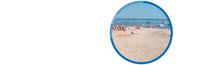 Insel Margjepôle mit einem tollen Sandstrand