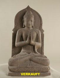 Buddha-Büste, Höhe 80cm, Breite 43cm, Tiefe 38cm. 1'950.-
