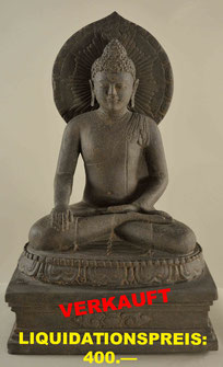 Buddha, Höhe 65cm, Breite 38cm, Tiefe 30cm. 1'150.—