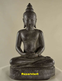 Buddha, Höhe 73cm, Breite 40cm, Tiefe 32 cm. 1'650.- VERKAUFT