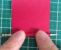 クイリング祝い箸置きの作り方画像1