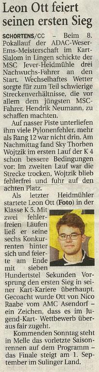 Wilhelmshavener Zeitung 22.08.19