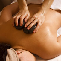Massage Greifswald hot stone