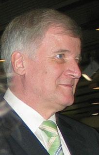 Horst Seehofer, CSU-Vorsitzender und Ministerpräsident Bayerns. Foto: Helga Karl 2007