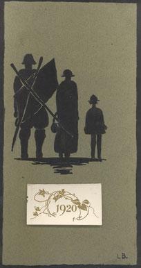 Lamorna Birch - 1920 Black Knight Calendar