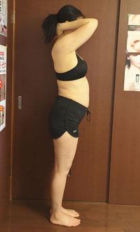 DNAパーソナル痩身コースをされている40代女性
