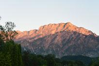 Untersberg im Morgenrot