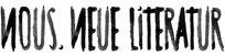 apollo-artemis, mode, design, nachhaltig, handgemacht, typografie, schrift, tusche, nous. neue literatur