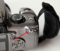 Canon EOS 300D кнопка фиксации экспозиции