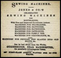JONES & CO. - 1870 Advertisement