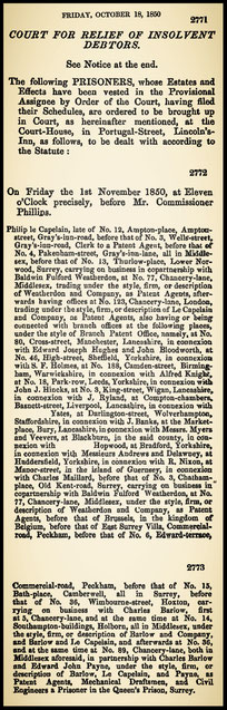 The London Gazette 1850