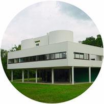 Visite guidée Villa Savoye art moderne