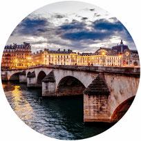 Visite guidée en soirée à Paris