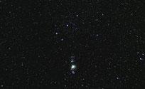 Orion Gürtelsterne Widefield