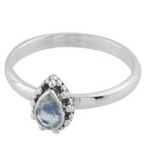 925 sterling zilveren Teardrop Ring