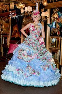 撮影ドレス
