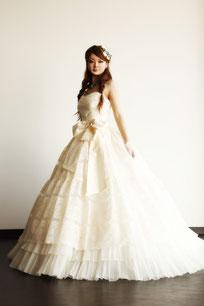 洋装前撮り ウェディングドレス