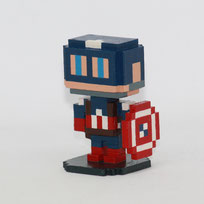 Moxel - Marvel - Captain America