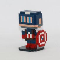 Moxel - Marvel - Captain America