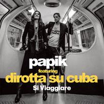 in studio per questa splendida collaborazione di Papik con i Dirotta su Cuba