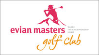 Logotype Évian masters golf club