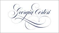Calligraphie Georgia Cortesi