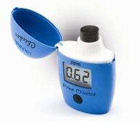 analizador cloro libre residual
