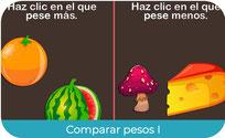 Comparar pesos I