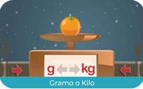 Elegir kilo o gramos
