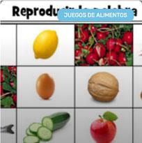 Puzzle de Alimentos en Español