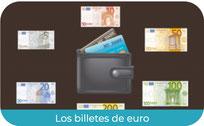 Los billetes de Euro