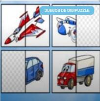 Puzzle de Medios de Transporte