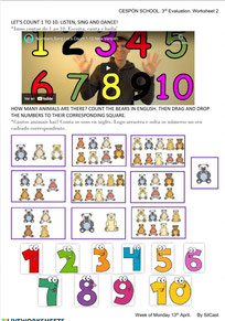 Associate numbers with pictures