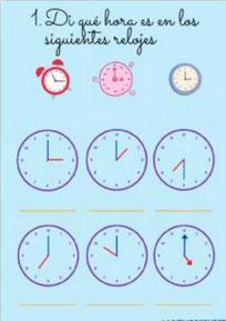 Las horas más sencillas