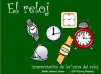 Interpretación de las horas del reloj