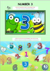 Numbers 3 Activities