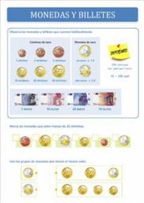 Ejercicios con monedas y billetes