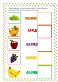 Colors fruits